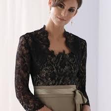 use your size top qulaity black lace three quarter sleeves bolero