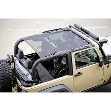 wrangler jeep 4 door black rugged ridge 13579 06 eclipse sun shade black 2 door 07 15 jeep