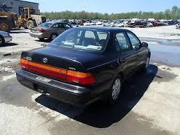 toyota corolla sedan 1993 93 94 95 toyota corolla left light sedan 36827 166 58628l