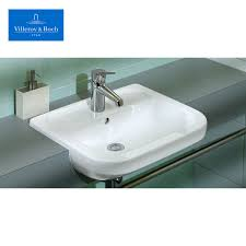 villeroy u0026 boch omnia architectura semi recessed washbasin uk