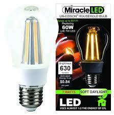 miracle led décor gorgeous xtra bright 360 radiance 7w led