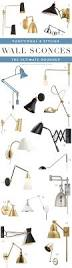 Swing Arm Wall Sconce Plug In 20 Stylish Swing Arm Sconces The Ultimate Roundup Pencil