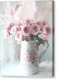 shabby chic roses canvas prints fine art america