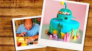 octonauts birthday cake octonauts underwater cake cbeebies