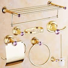 bathroom accessories gold interior design