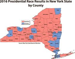 New York State Counties Map by College Officials Look Back On Trump Rise Clinton Fall News