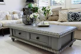 Painted Coffee Table Painting Coffee Tables Ideas Grey Painted Coffee Tables Ideas