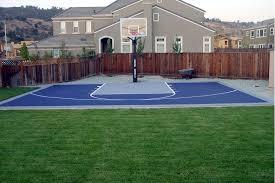 backyard basketball court flooring backyard basketball court design ideas u0026 pictures
