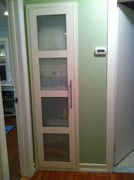 8 Foot Tall Closet Doors by Pax Wardrobe Turned Custom Reach In Closets Ikea Hackers Ikea