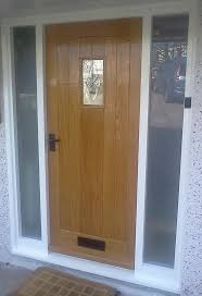 bullseye glass door 8 best oak front doors images on pinterest contemporary front