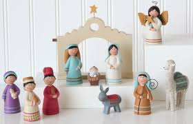 20 nativities from around the world to display in your home lds