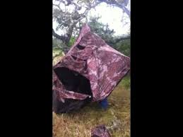 Primos Blinds Double Bull Setting Up A Doublebull Ground Blind Youtube