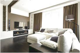 shaped sofa and dark hardwood flooring taupe paint color elegant
