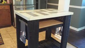 wooden kitchen island table diy pallet and barn wood kitchen island table