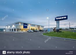 volvo canada volvo car dealership in quebec canada stock photo royalty free