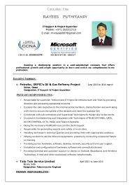 Resume For It Support Cisco Ccna Resume Samples Virtren Com