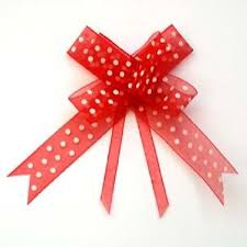 pull bow ribbon organza pull up bow ribbon pink brown