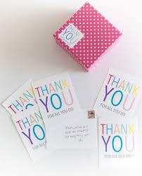 sending thanks diy thank you cards