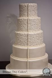 wedding cake lace ivory lace wedding cake gainesville fl bearkery bakery