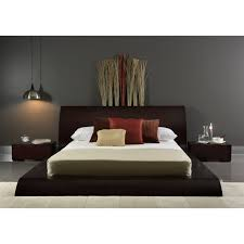 wenge bed with dark brown grey colours bedroom design my home