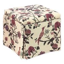 buy red storage ottoman furniture from bed bath u0026 beyond