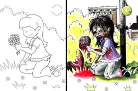 coloring book pictures gone wrong 25 coloring book images made horrifyingly funny funny gallery