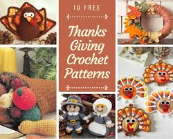 10 free thanksgiving crochet patterns