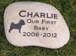 personalized memorial stones pug memorial pet pug memory tombstone memorial