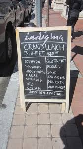 Ambassador Dining Room Baltimore Md Menu by Review Indigma U2013 A Lunch Time Buffet Adventure Diningout In