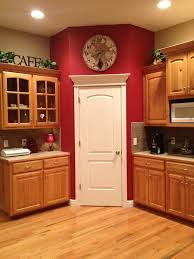 Best Color For Kitchen Walls by Best 20 Red Kitchen Walls Ideas On Pinterest Cheap Kitchen