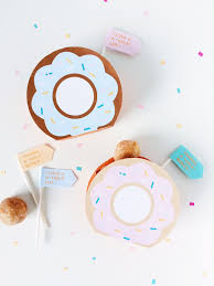 diy favor box template printable free template donut favor boxes donuts diy donuts and favors