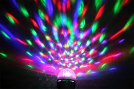 Disco Light Bulb 360 Rotating Disco Ktv Bar Party Stage Lighting Led Rgb Crystal