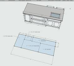 typical kitchen island dimensions kitchen island dimensions kitchen island width for with images fresh