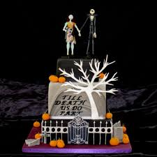 stunning nightmare before wedding theme picture ideas
