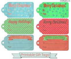 printable gift tags for you