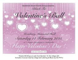 valentine raffle tickets valentines ball and luxury raffle spaldwick website