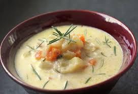 recette de cuisine pomme de terre recette minceur soupe de pommes de terre au romarin