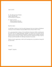 sample resignation letter example 10 free documents download