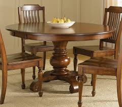 pedestal dining room table sets round wood dining set dining room ideas