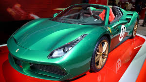 ferrari supercar 2016 2016 paris motor show the best performance and supercars