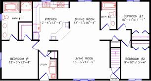 floor plans one story open floor plans 1 story rectangular house plans luxury simple one story open floor