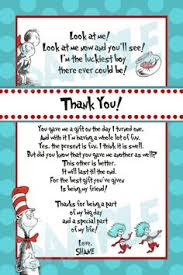 1st birthday thank you card wording thank you pinterest