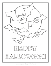 free halloween coloring pages bats halloween coloring sheets