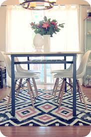 Colorful Aztec Rug My House Of Giggles Living Room Refresh A Diy Kilim Aztec Rug