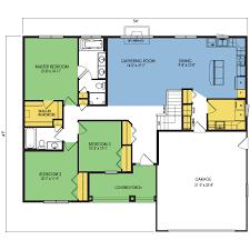 robson floor plan 3 beds 2 baths 1668 sq ft wausau homes