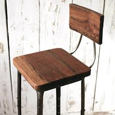 Industrial Metal Bar Stool Stools Vintage Metal Industrial Chairs Industrial Metal And Wood
