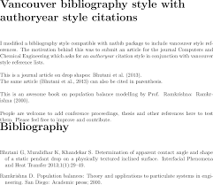 how to write a bibliography for a paper bibtex can i cite author name or year in text when using enter image description here