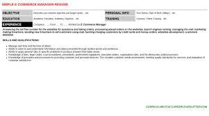 e commerce manager cover letter u0026 resume