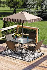 Patio Umbrella Table And Chairs by Furniture Outstanding Walmart Patio Furniture Clearance With Red