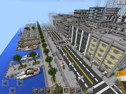 Minecraft Pe Maps Ios Hyvel City Map Minecraft Pe Hq